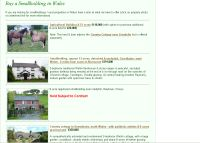 Smallholdings in Wales - screenshot